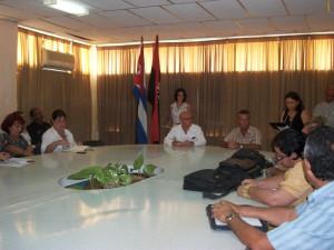 CUBA-FIRMA DE CONVENIO DE TRABAJO