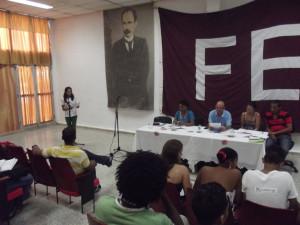 CUBA- CONSTITUCIÓN COMITÉ FEU UNIVERSIDAD DE HOLGUÍN