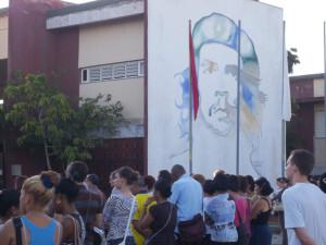 CUBA- HOMENAJE A CAMILO Y CHE UNIVERSIDAD DE HOLGUÍN