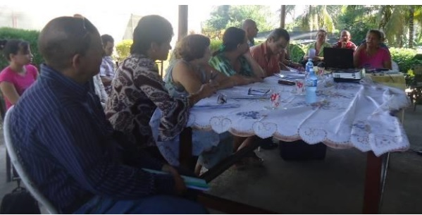 Desde el día 24 de noviembre comenzaron en la UEICA los actos de defensa de los informes finales de la Especialidad de Extensión Agraria, la cual culminó exitosamente en el Organopónico La Taberna, el día 16 de diciembre. Foto: Milagros Rodríguez Alemá