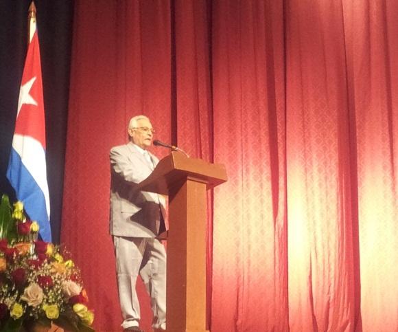 Rodolfo Alarcón, ministro de Educación Superior de Cuba. Foto: L Eduardo Domínguez/ Cubadebate.