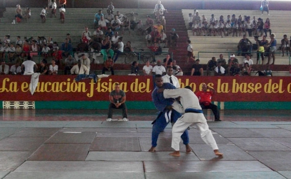 Universiada Nacional de Judo 2016. Foto de archivo.