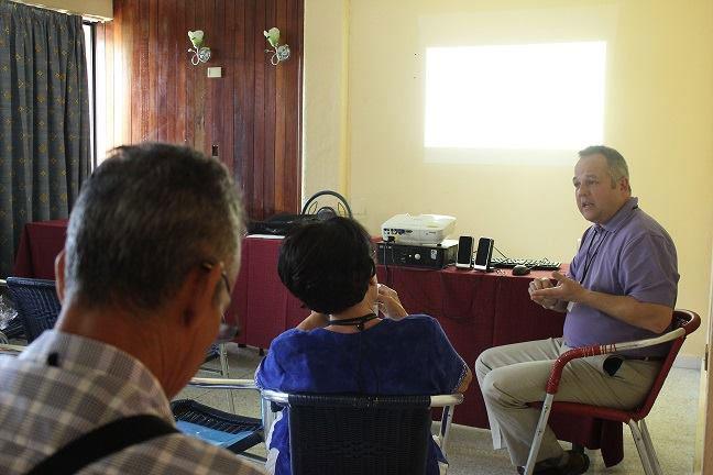 El intercambio académico entre investigadores cubanos y extranjeros ha sido muy provechoso. Foto: Dirección de Comunicación Institucional.