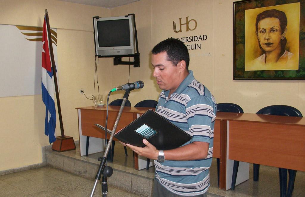 Acto de constitución de la Cátedra Celia Sánchez Manduley efectuado en la sede de igual nombre de la Universidad de Holguín el 10 de mayo de 2016. UHO FOTO/Luis Ernesto Ruiz Martínez..