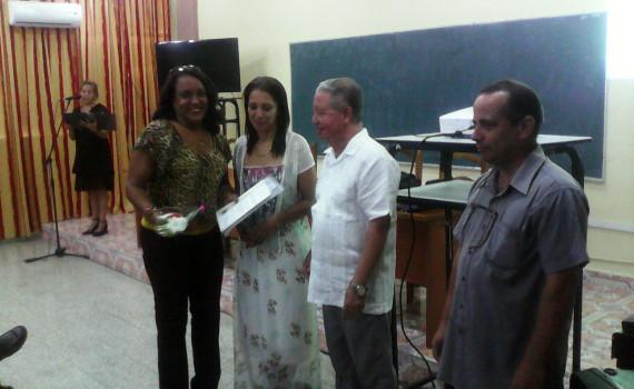 Investigadores de la región oriental participaron este lunes en la constitución del Tribunal Permanente de defensa de doctorados en Ciencias Pedagógicas que, en esta zona del país, tendrá su sede en la Universidad de Holguín. Desarrollado en la sede José de la Luz y Caballero, el 09 de mayo de 2016-UHO/Foto: Yudith Rojas Tamayo