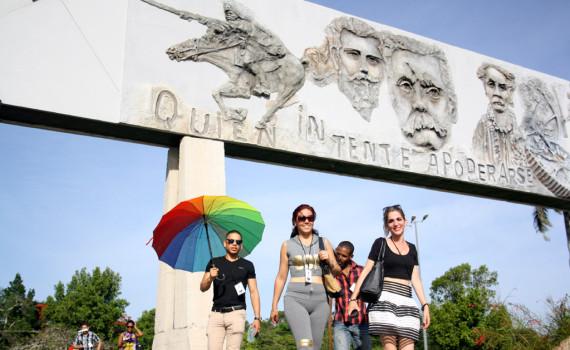 CUBA-VISITA A LA PLAZA DE LA REVOLUCION