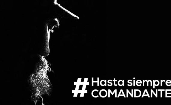 Las universidades cubanas se suman al tributo de todo el pueblo al Comandante en jefe de la Revolución Cubana.