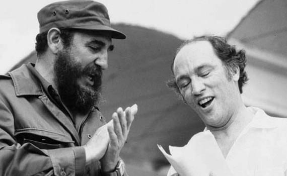 Una gran amistad unió a Cuba y Canadá. En la imagen, el Comandante Fidel Castro y el entonces Primer Ministro, Pierre Trudeau.