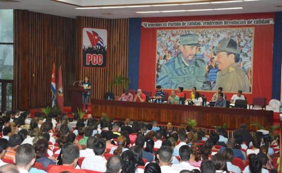 La juventud militante no es solo el futuro de la Patria, sino el presente de la Revolución, expresó la Primer Secretaria de la UJc e el país.