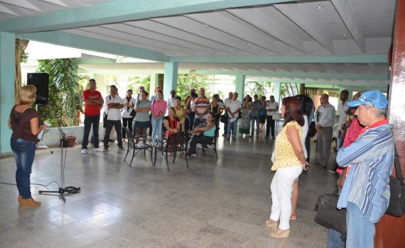 Consejo Provincial de la Educación Superior (COPESUM) correspondiente al mes de febrero de 2017. Desarrollado en la sede José de la Luz y Caballero, de la Universidad de Holguín. UHO FOTO/Luis Ernesto Ruiz Martínez.