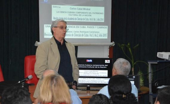 Dr. C. Carlos A. Cabal Mirabal, investigador titular del Centro de Ingeniería Genética y Biotecnología. UHO FOTO/Luis Ernesto Ruiz Martínez-DIRCOM.