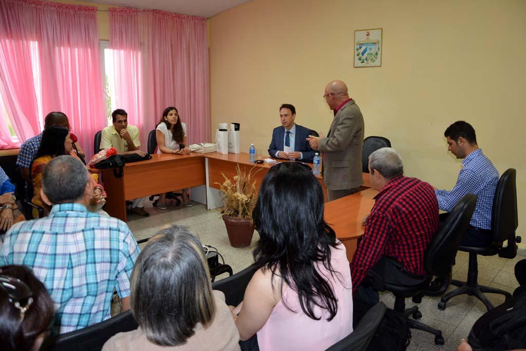 Cuba y Bélgica estrechan lazos académicos