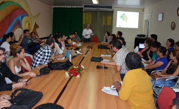 Jornada de cierre del 1er Seminario de Comunicación Institucional efectuada en el Recinto Ferial Expo Holguín. UHO FOTO/Luis Ernesto Ruiz Martínez