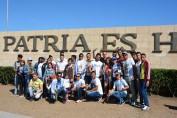 Jóvenes de la Universidad de Holguín rindieron homenaje al Apóstol y a nuestro eterno Comandante en Jefe.  Desarrollado en Santiago de Cuba, el 27 de marzo de 2017-UHO/Foto: Yudith Rojas Tamayo