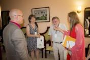Intercambian autoridades de la Universidad de Holguín con delegación del Consejo de Universidades Flamencas (VLIR). UHO FOTO/Torralbas.