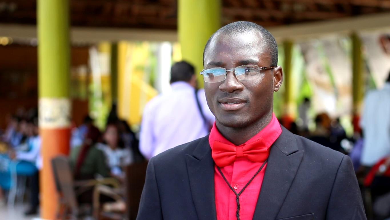 Mauro Ignacio Francisco/ Estudiante angolano FACINF-UHo / Universidad de Holguín. UHO FOTO/ Torralbas