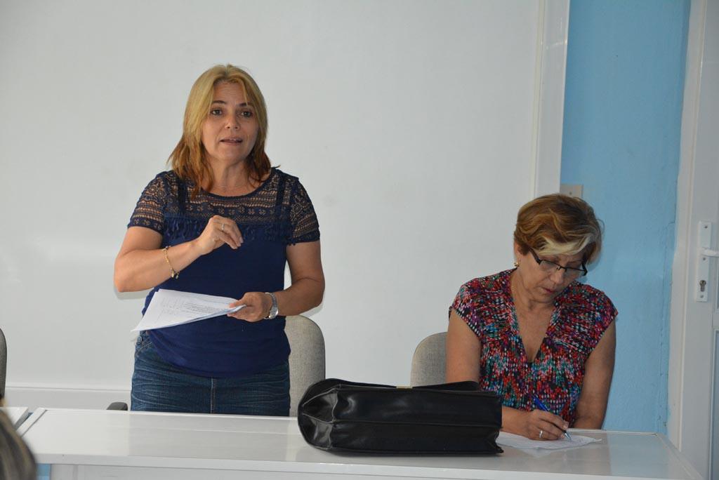 Proceso de evaluación externa a la Maestría en Dirección. Intercambio con directivos y trabajadores de la TCA. UHO FOTO/Luis Ernesto Ruiz Martínez