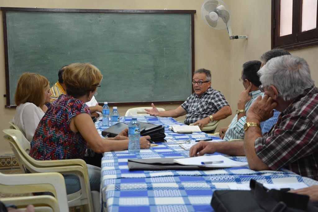 Proceso de evaluación externa a la Maestría en Dirección. UHO FOTO/Luis Ernesto Ruiz Martínez