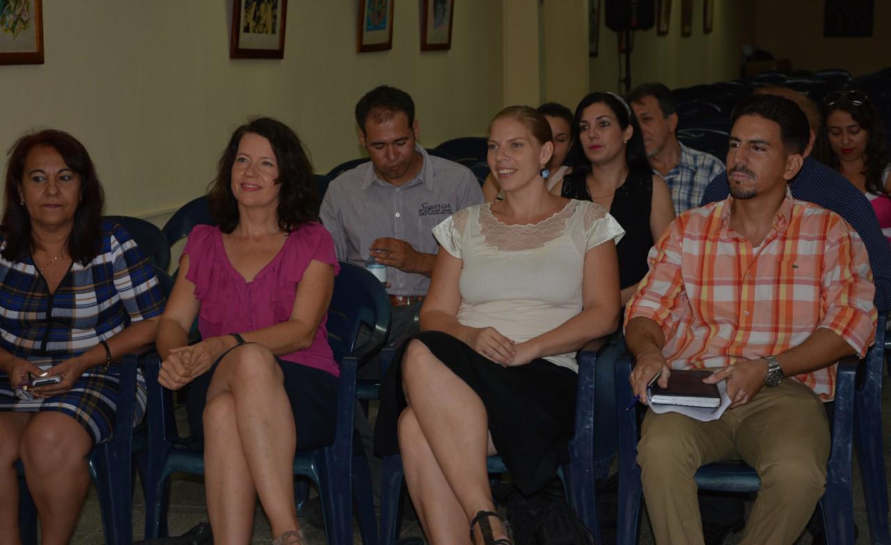 Reunión regional de Alumni Cuba-Alemania Organizado en conjunto por el DAAD-Cuba, la UHO y el MES, el 19 de junio de 2017. UHo Foto: yperezf/DIRCOM