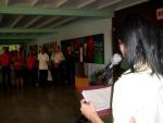 Trabajadores de la Universidad de Holguín ratifican declaraciones cubanas contra medidas anunciadas por Donald Trump. Martes 20 de junio de 2017. UHO FOTO/Francisco Rojas González.