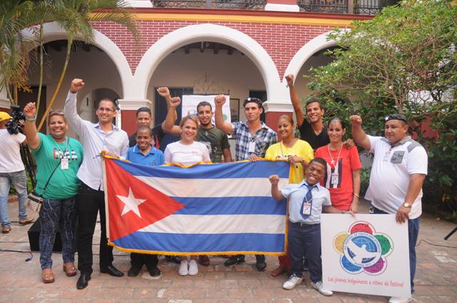 12 holguineros viajarán a Sochi para representar a la juventud de esta región nororiental de Cuba. Foto: Luis Mario Rodríguez Suñol.