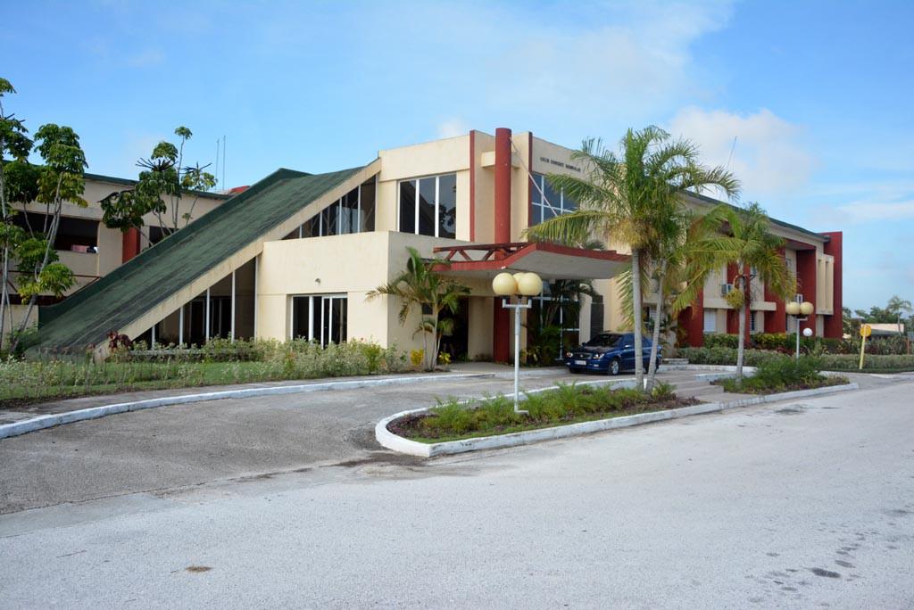 Las sedes de la Universidad de Holguín reinician sus actividades tras el paso del Huracán Irma por Cuba.  UHO FOTO/Luis Ernesto Ruiz Martínez.
