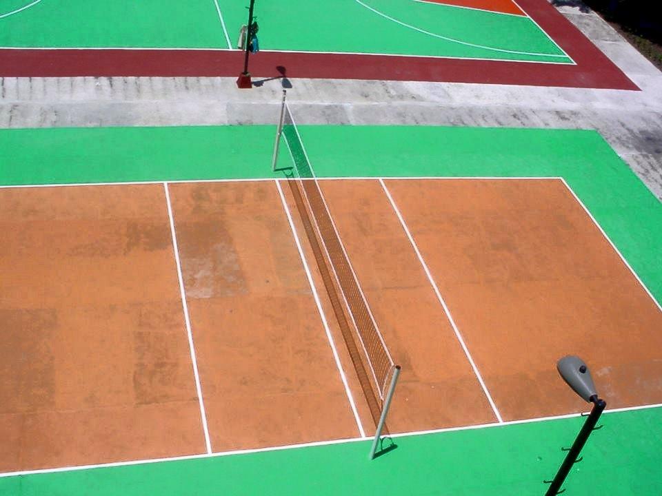 Las áreas deportivas de la Universidad de Holguín lucen sus mejores galas. Foto: Francisco Rojas González.