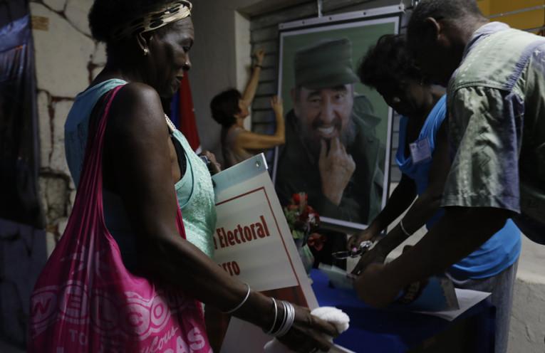 Foto tomada del sitio Interpress Service en Cuba. Proceso eleccionario en Cuba.