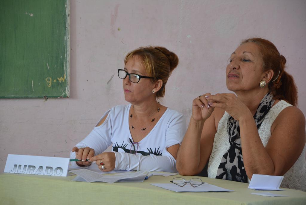 Sesiones de intercambio en las comisiones de trabajo del Taller Nacional. Desarrollado en el municipio de Calixto García, el 18 de noviembre de 2017. Foto/UHo: Yudith Rojas Tamayo