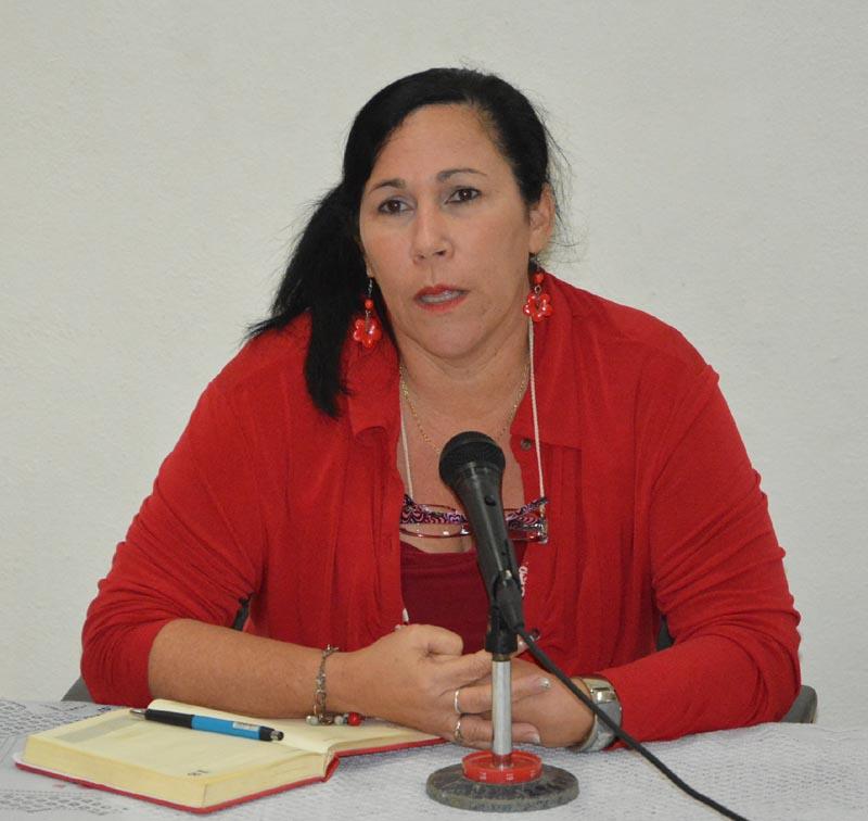 Dr. C. Yudith Laura Ferreiro Fuentes, Decana de la Facultad de Ciencias de la Educación