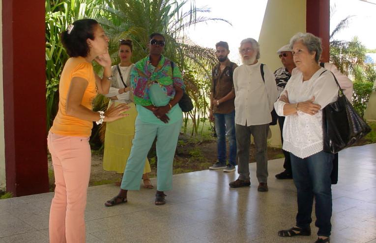 El XV Taller Nacional de Narración Oral Cuenteros Pico de Oro, sesiona en la Universidad de Holguín. Foto: Francisco Rojas González.