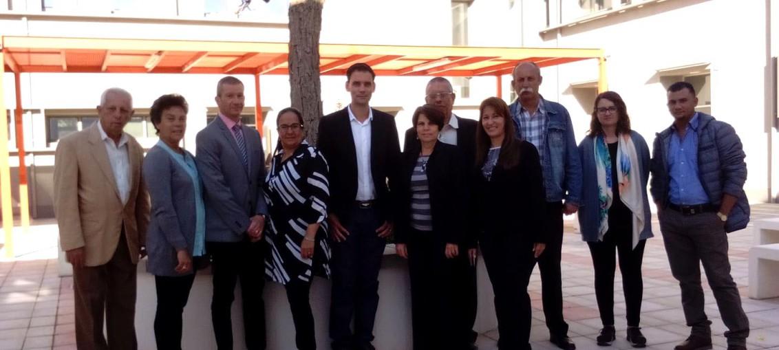 Participantes en el Proyecto de Colaboración Internacional Programa Intercambio de Expertos II de la UE-MES-EFMD. Foto cortesía de la autora.