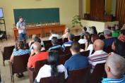 El Dr. C. Roberto Pérez Almaguer, Vicerrector de Formación, inaugura oficialmente el VIII Evento Nacional de Formación laboral e investigaciones educativas, organizado por la Universidad de Holguín, que sesiona en la sede José de la Luz y Caballero UHo FOTO/Luis Ernesto Ruiz Martínez.