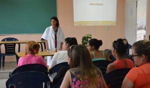 Jornada Científica estudiantil de la Universidad de Holguín en la sede Celia Sánchez Manduley. Foto.Yusmel.
