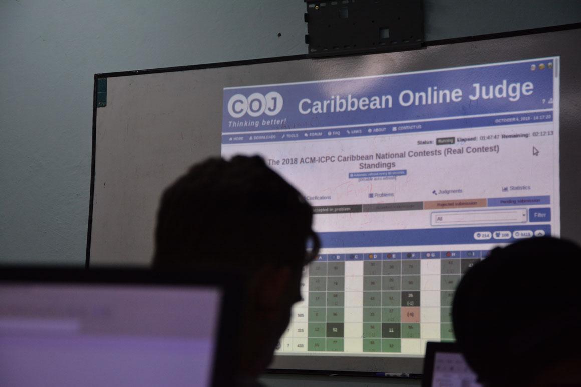 Final Nacional ACM-ICPC, subsede UHo. Desarrollada el sábado 6 de octubre en la sede Oscar Lucero Moya. UHo FOTO/Luis Ernesto Ruiz Martínez.