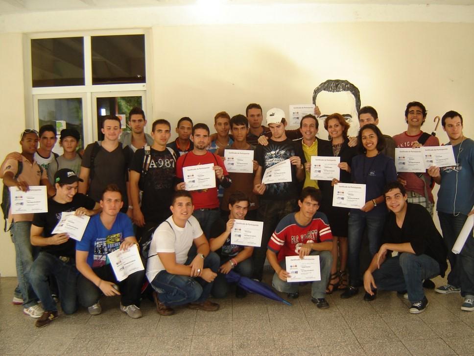Concurso Nacional ACM-ICPC 2012 (Subsede UHo ). Foto cortesía de Yisel Clavel Quintero.