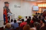 Investigadores destacados de la Universidad de Holguín fueron reconocidos en el Acto Central por el Día de la Ciencia Cubana, efectuado en la sede Oscar Lucero Moya. UHo FOTO/Luis Ernesto Ruiz Martínez