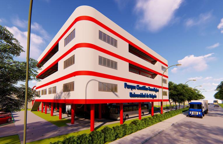 El proyecto es obra del trabajo de estudiantes y profesores de arquitectura de la Universidad de Camagüey