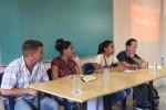 Presentación de la campaña de comunicación por el onceno Congreso de la UJC en la UHo por miembros del Grupo de Comunicación de la Unión de Jóvenes Comunistas de Cuba. Desarrollado en la sede Celia Sánchez Manduley, el 16 de mayo de 2019-UHO/Foto: Yudith Rojas Tamayo