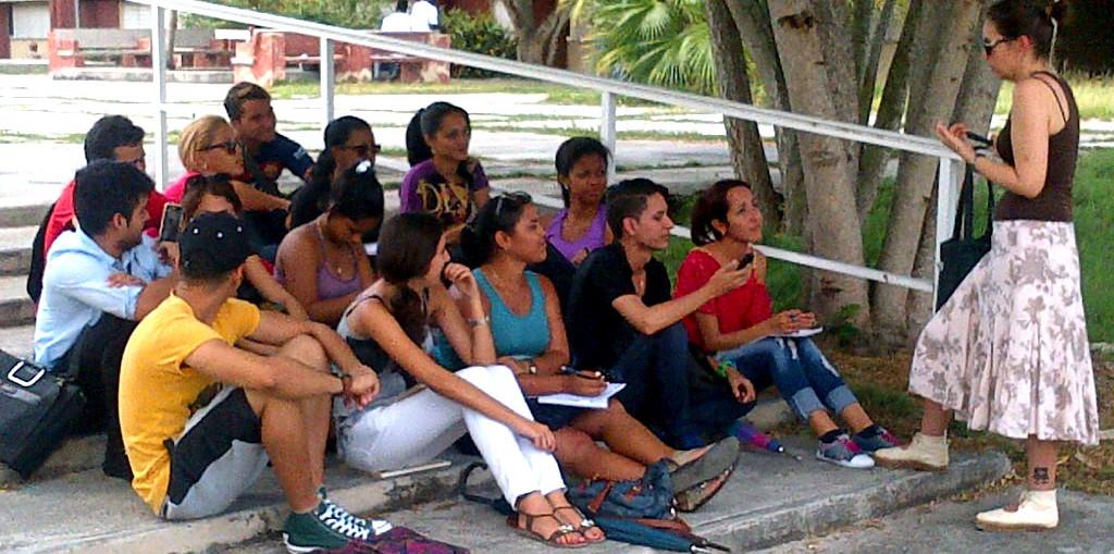 Regresan las actividades docentes a todos los espacios de la Universidad de Holguín. UHo FOTO/Luis Ernesto Ruiz Martínez.
