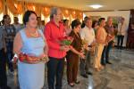 eis reconocidos profesores de la Universidad de Holguín, con amplia hoja de servicios, reciben la Orden Frank País de Segundo Grado, en ceremonia solemne desarrollada en la Plaza de la Revolución, el 4 de septiembre de 2019. UHo FOTO/Luis Ernesto Ruiz Martínez.