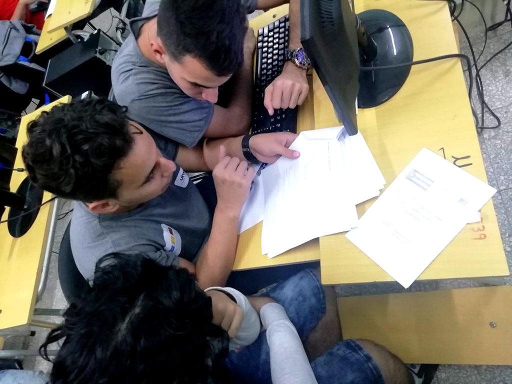 La Subsede holguinera de la Final Nacional del ICPC 2019 sesionó en la Universidad de Holguín. UHo FOTO/Reinier Hernández Ávila.