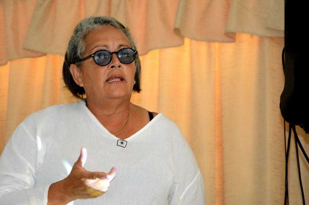 Ingeniera Odalys Rey Neyra, Directora de Inversiones de la Empresa Azucarera. UHo Foto/Luis Ernesto Ruiz Martínez.
