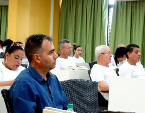 El Taller forma parte de las acciones de celebración del aniversario 20 del Centro de Investigaciones y Servicios Ambientales (CISAT). UHo FOTO/Marjel Morales Gato.