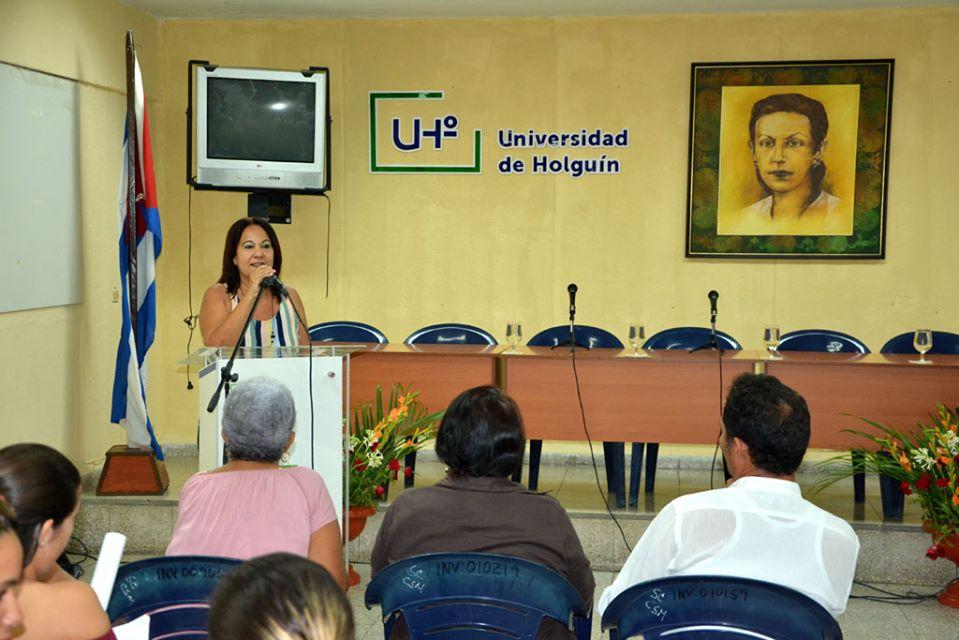 Jornada de inicio del proceso de evaluación externa a la carrera de Historia. Foto: Luis Ernesto Ruiz Martínez
