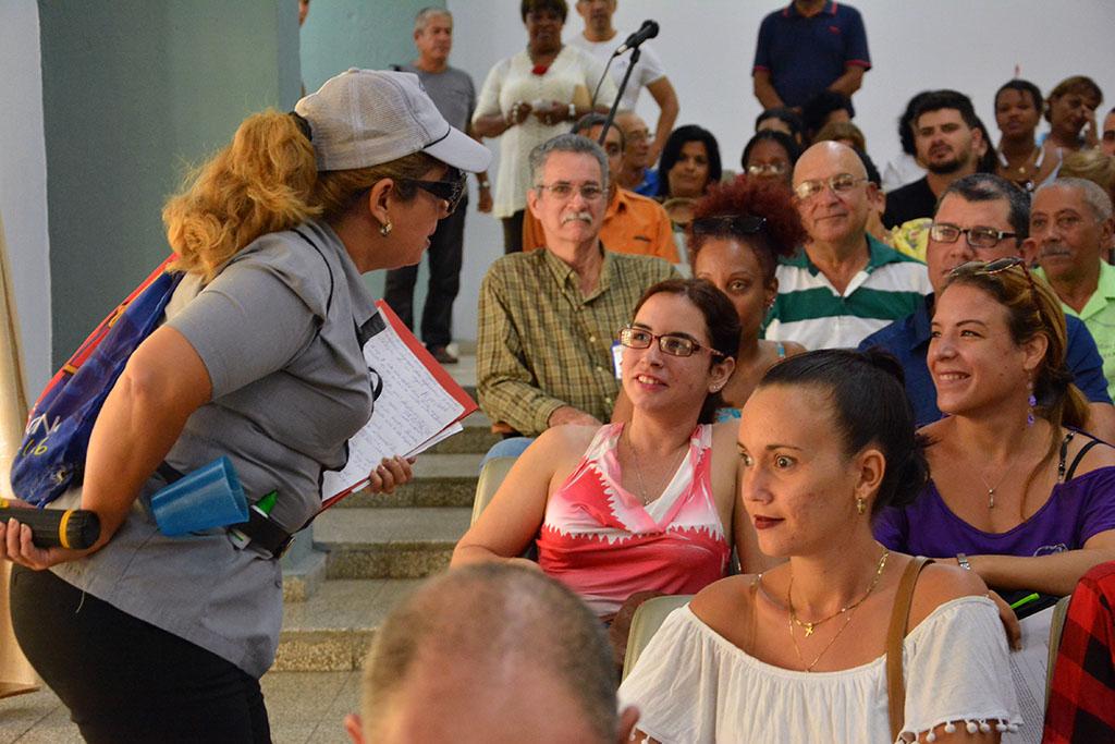 Sesiona Claustro de la Universidad de Holguín, el 1 de noviembre de 2019, en la sede José de la Luz y Caballero. UHo FOTO/Luis Ernesto Ruiz Martínez.