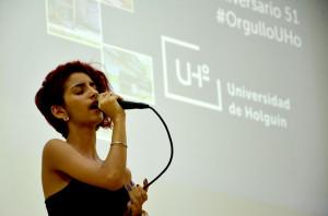 Celebran aniversrio 51 de la Universidad de Holguín, el 4 de noviembre de 2019. UHo FOTO/Luis Ernesto Ruiz Martínez.