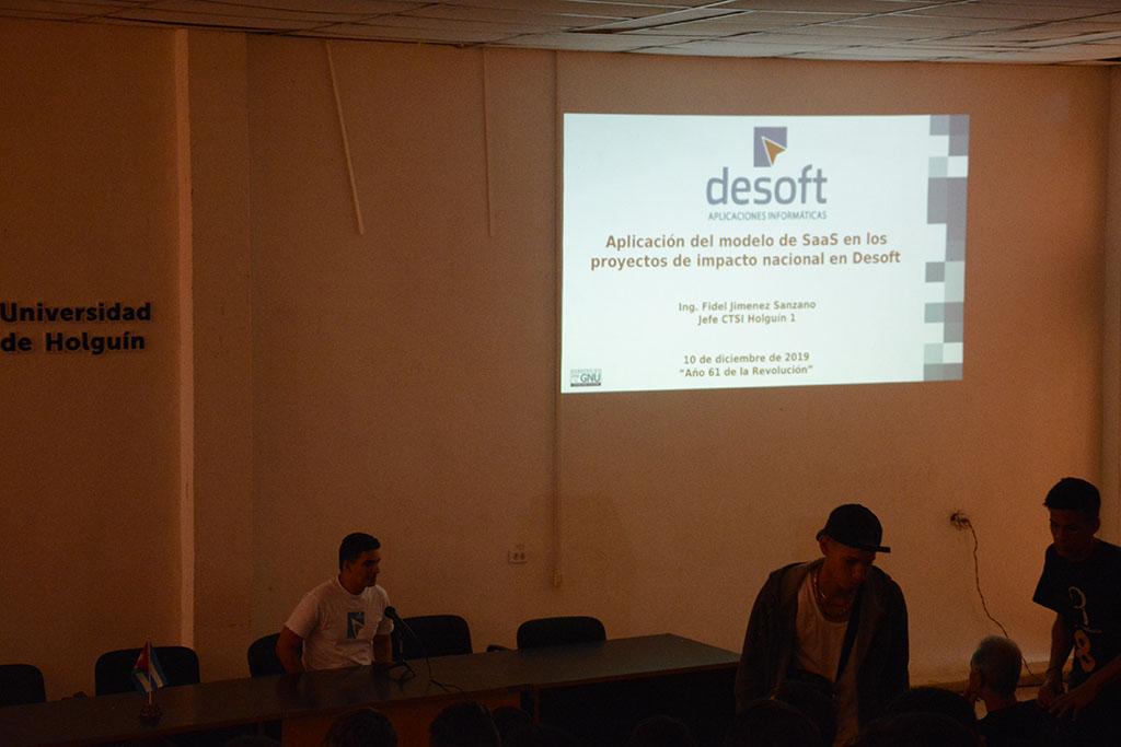 Fidel Jiménez Sanzano, comparte detalles sobre la aplicación del modelo SaaS en los proyectos de impacto nacional que desarrolla Desoft.