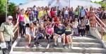 Visita de la Brigada canadiense de solidaridad Calixto García a la Universidad de Holguín. Intercambio con estudiantes, con la Cátedra de Estudios Canadienses y trabajo voluntario en áreas del centro.