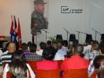 Acto por el Día de la Ciencia Cubana en la Universidad de Holguín. Foto: Yusmel/Dircom/UHo